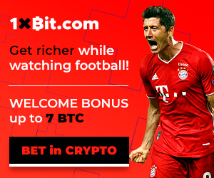 Crypto Currency Betting at 1xBit